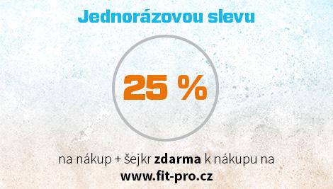 Jednorázová zľava 25%